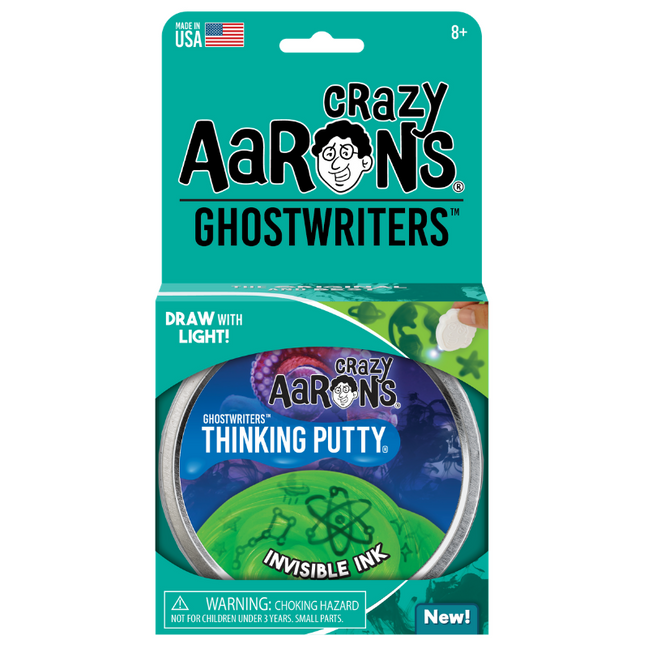"Thinking Putty - Ghostwriters Invisible Ink 4"" Tin"