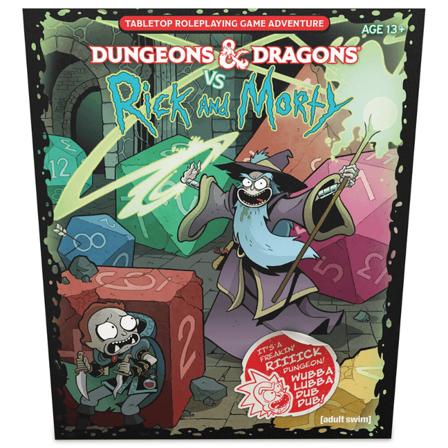 rick and morty dungeons and dragons game