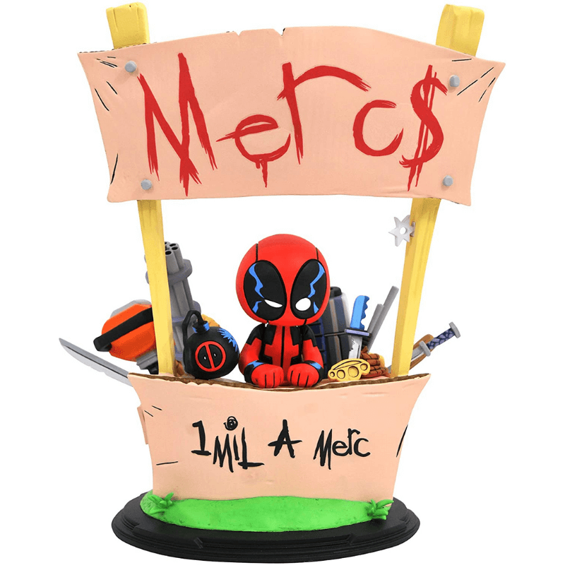 Statue - Marvel: Deadpool Animated Merc for Hire by Gentle Giant