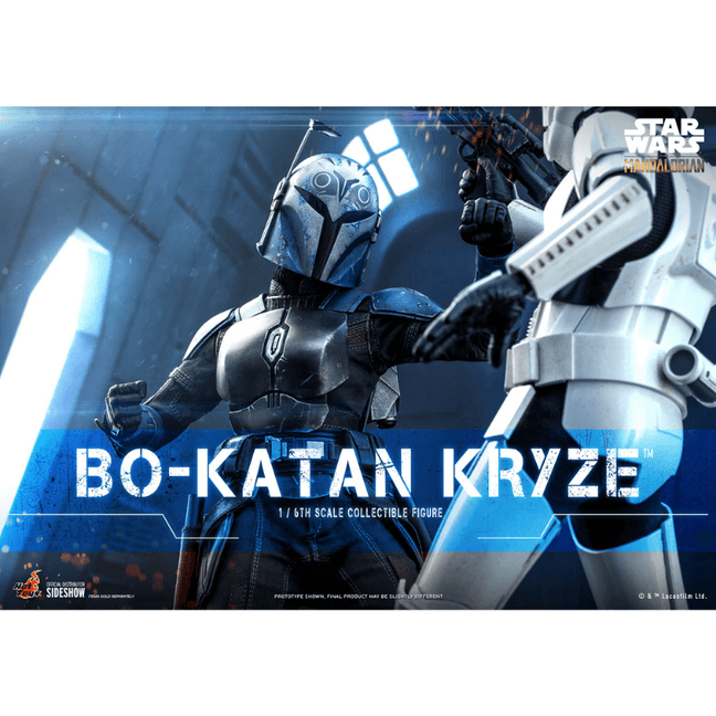 Figure - Star Wars The Mandalorian: Posable Bo-Katan Kryze Sixth Scale by Hot Toys [PRE-ORDER]