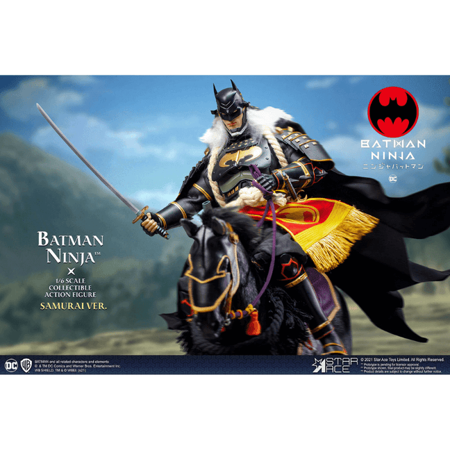 Figure - DC Comics: Ninja Batman 2.0 Deluxe with Horse by Star Ace Toys [PRE-ORDER]