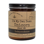 "Candle - I'm My Own Damn Unicorn: Infused with ""Independence"""