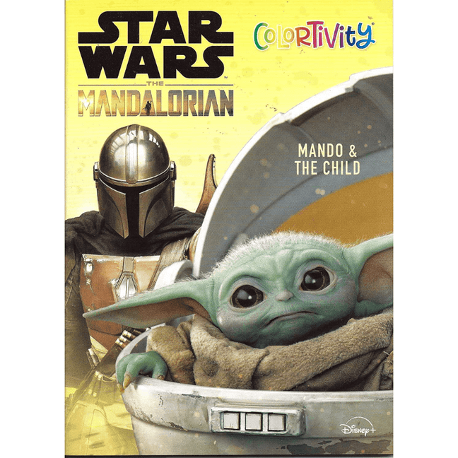 Coloring Book - Star Wars The Mandalorian: Mando & The Child
