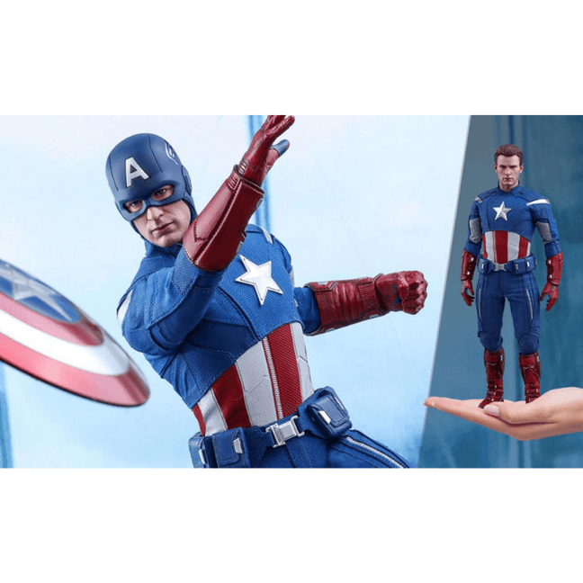 Figure - Marvel The Avengers Endgame: Captain America Sixth Scale (2012 Version) by Hot Toys [PRE-ORDER]