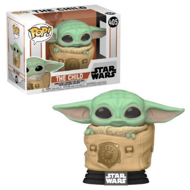 Funko POP! - Star Wars The Mandalorian: The Child in Sack #405