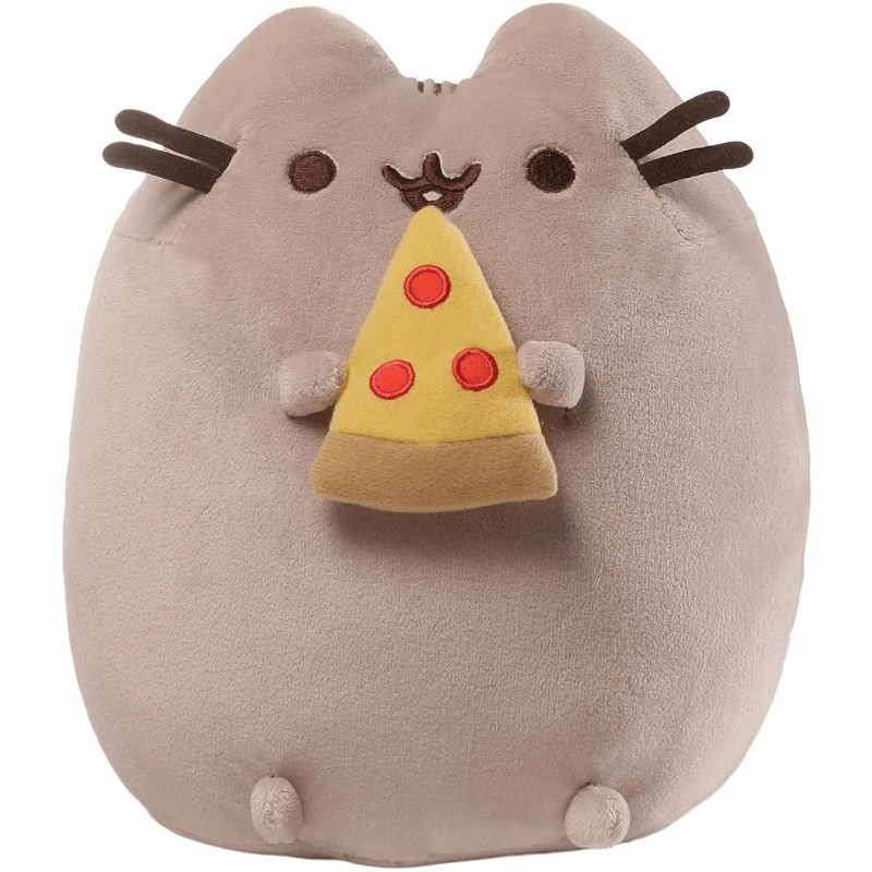 "Plush - Pusheen: 9.5"" Snackables with Pizza"