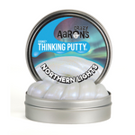 "Thinking Putty - Cosmic Glow™ Northern Lights 4"" Tin"