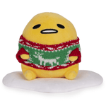 "Plush - Gudetama the Lazy Egg: 6"" Ugly Holiday Sweater"