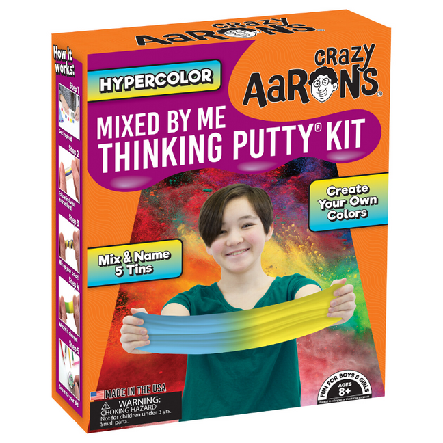 Thinking Putty - Mixed by Me® Create Your Own Putty Kit: Hypercolor