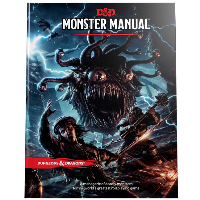 Book - Dungeons and Dragons: Monster Manual