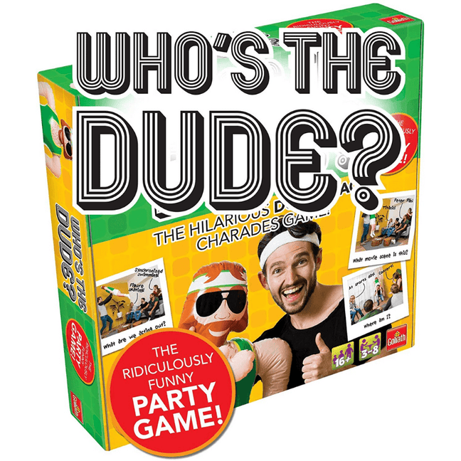 whos the dude game target