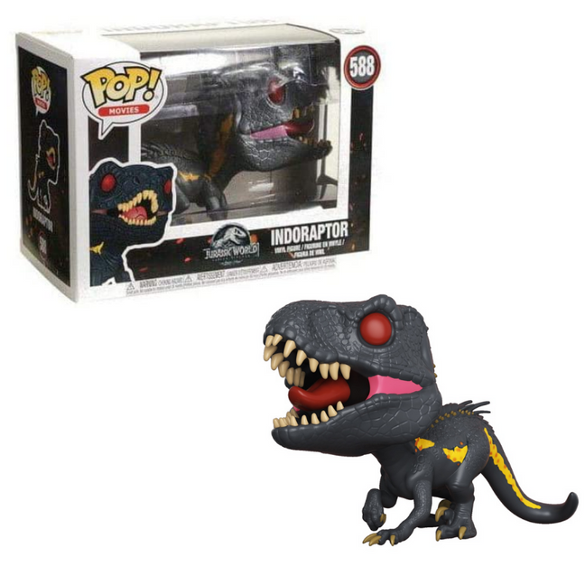 Funko POP! - Jurassic World Fallen Kingdom: Indoraptor #588