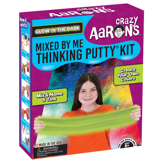 Thinking Putty - Mixed by Me® Create Your Own Putty Kit: Glow in the Dark