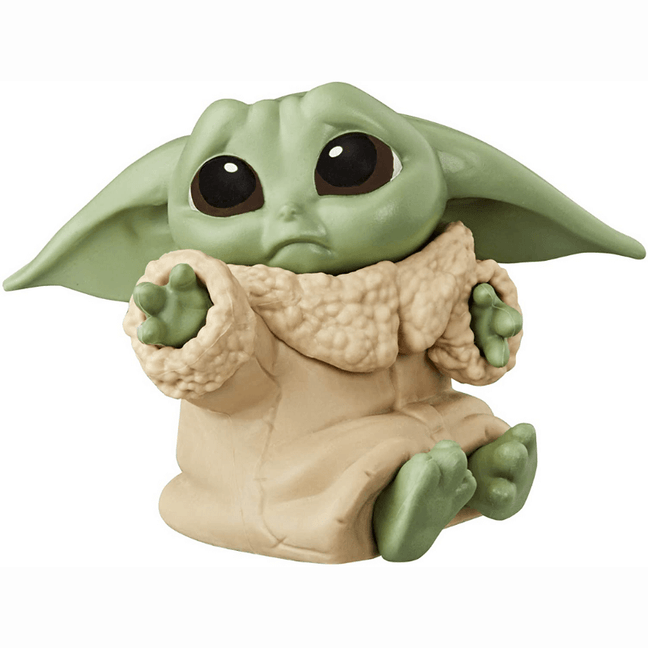 "Figure - Star Wars The Mandalorian Baby Bounties: The Child ""Baby Yoda"" Concerned Hold Me"