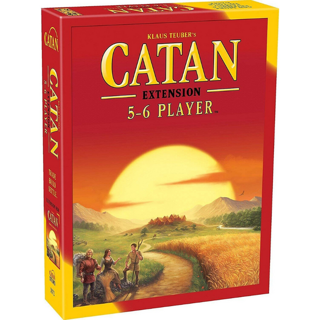 settlers of catan 5 6 player expansion board setup