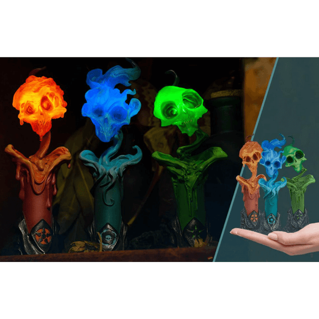 Statue - Court of the Dead: The Lighter Side of Darkness Faction Candle Statue Set