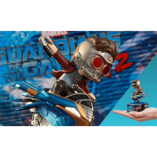 Figure - Marvel Guardians of the Galaxy Vol. 2: Star-Lord CosRider by Hot Toys