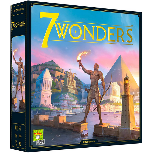 Game - 7 Wonders New Edition by Asmodee