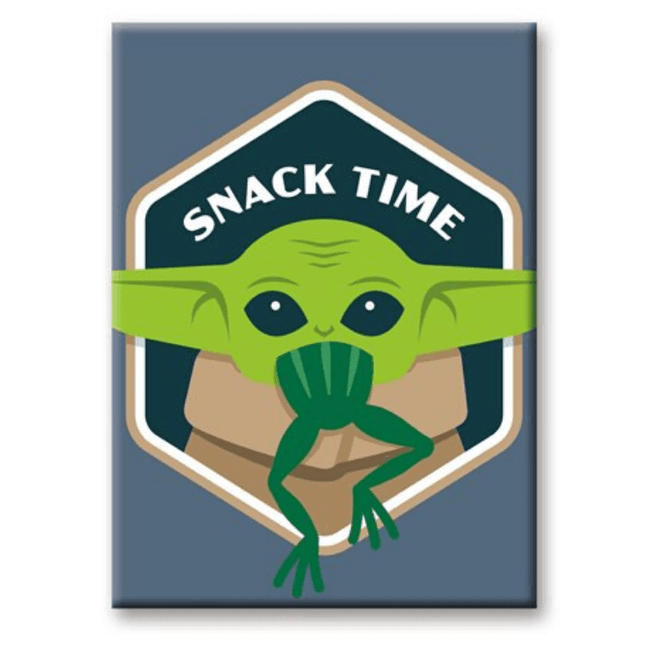 magnet star wars the mandalorian snack time episode
