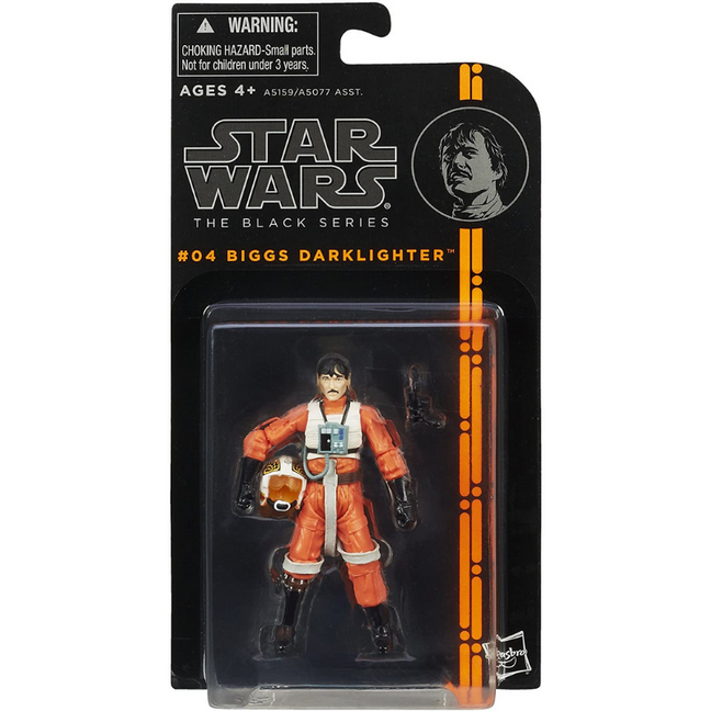 "Figure - Star Wars A New Hope: 3.75"" The Black Series Biggs Darklighter #04"