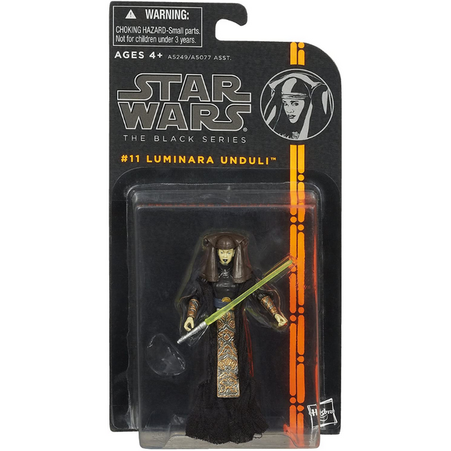 "Figure - Star Wars: 3.75"" The Black Series Luminara Unduli #11"