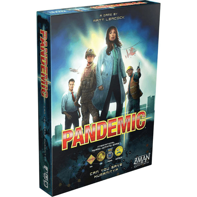pandemic game cards