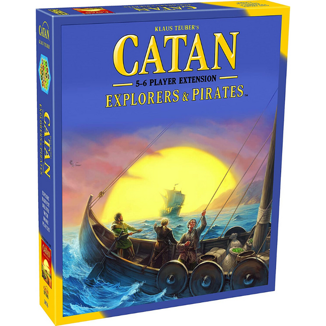 catan explorers and pirates 5 6 player extension rules