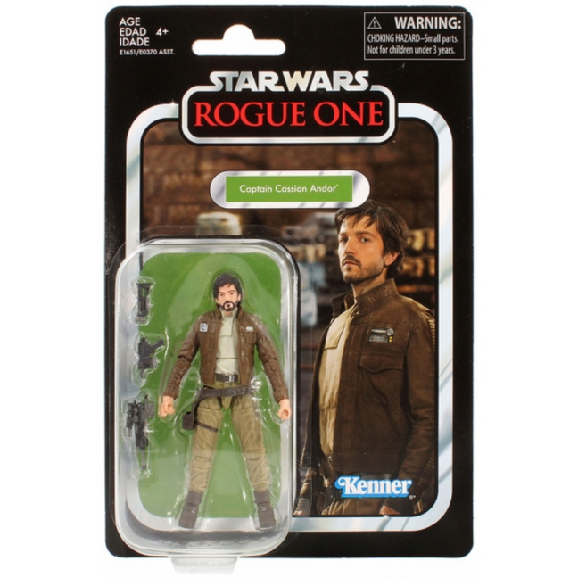 "Figure - Star Wars Rogue One: 3.75"" The Vintage Collection Captain Cassian Andor"