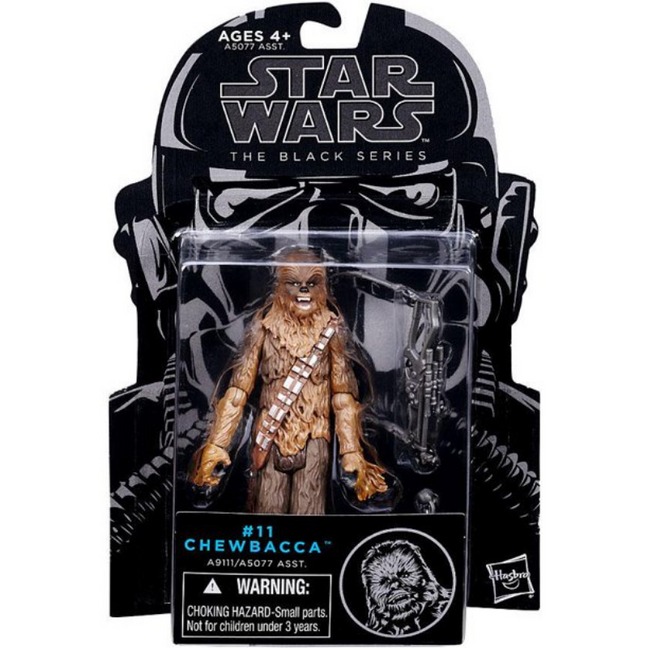 "Figure - Star Wars A New Hope: 3.75"" The Black Series Chewbacca #11"