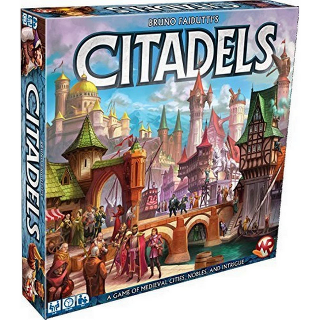 Game - Citadels by Z-Man Games
