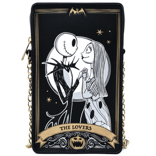Crossbody Bag - Nightmare Before Christmas: Tarot Card Box by Loungefly