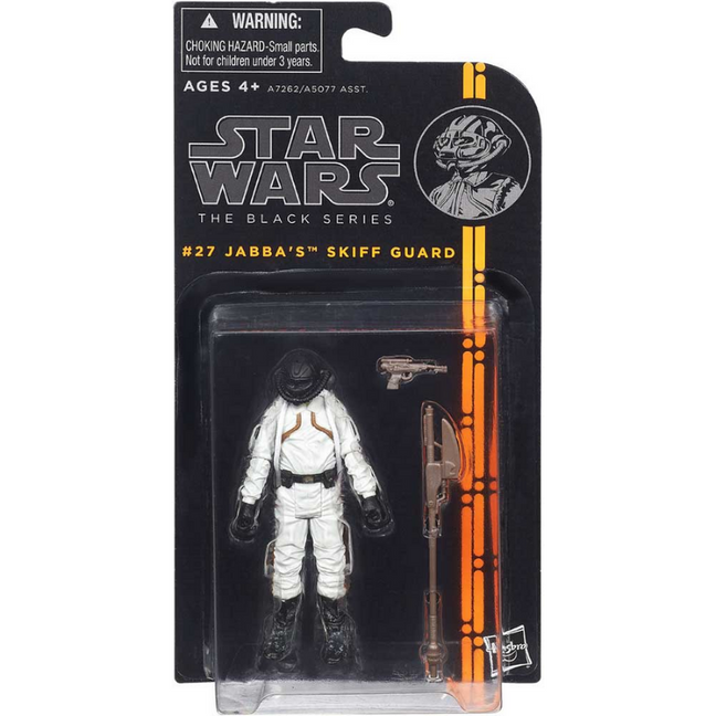 "Figure - Star Wars Return of the Jedi: 3.75"" The Black Series Jabba's Skiff Guard #27"