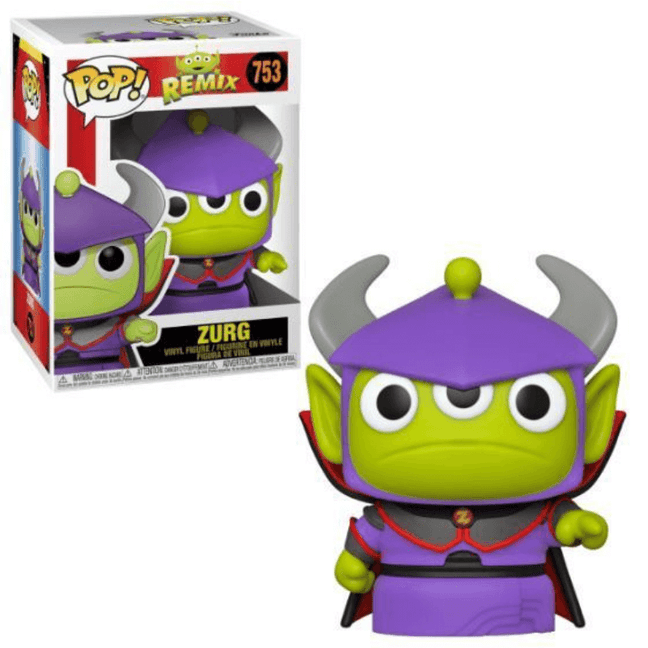 Funko POP! - Disney Pixar Toy Story: Alien Remix as Zurg #753