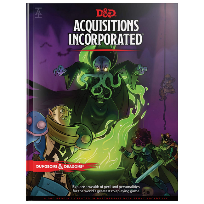 Book - Dungeons & Dragons: Acquisitions Incorporated Campaign Accessory