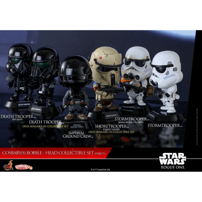 Figure - Star Wars Rogue One: Imperial Troopers Cosbaby Series 1 Set of 6 by Hot Toys