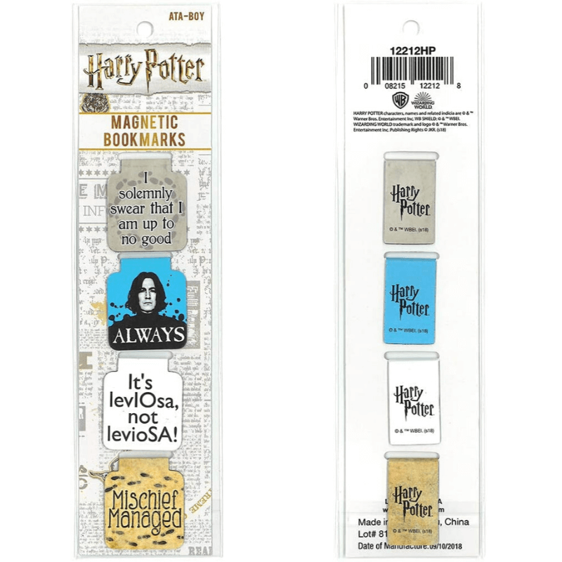 harry potter bookmark collection
