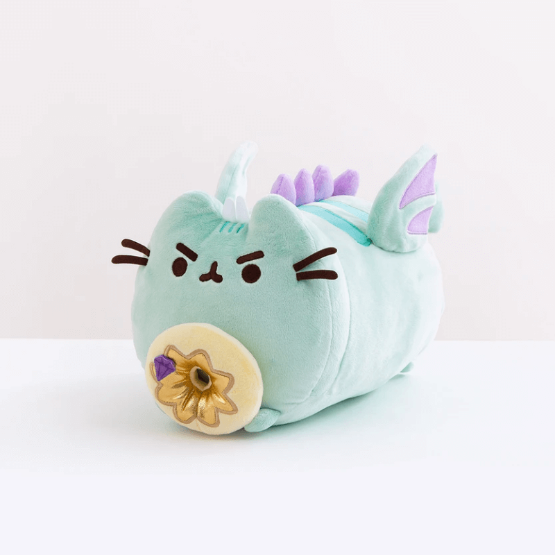 "Plush - Pusheen: 13"" Dragonsheen with Donut Log"