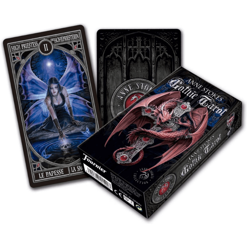 anne stokes gothic tarot guidebook