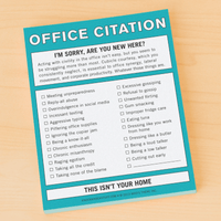 Notepad - Nifty Notes: Office Citation