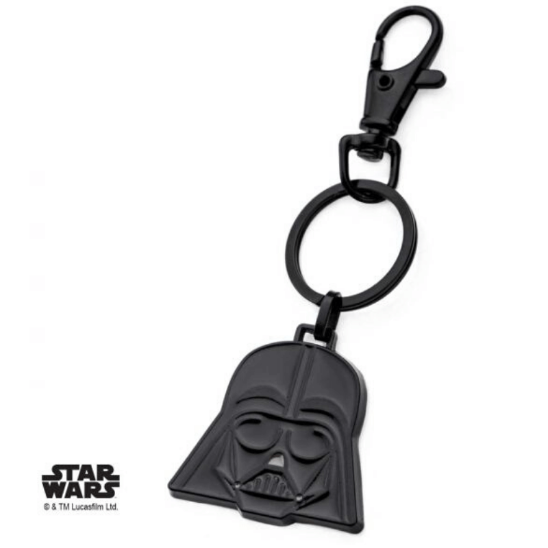 Keychain - Star Wars: Darth Vader Helmet Stainless Steel