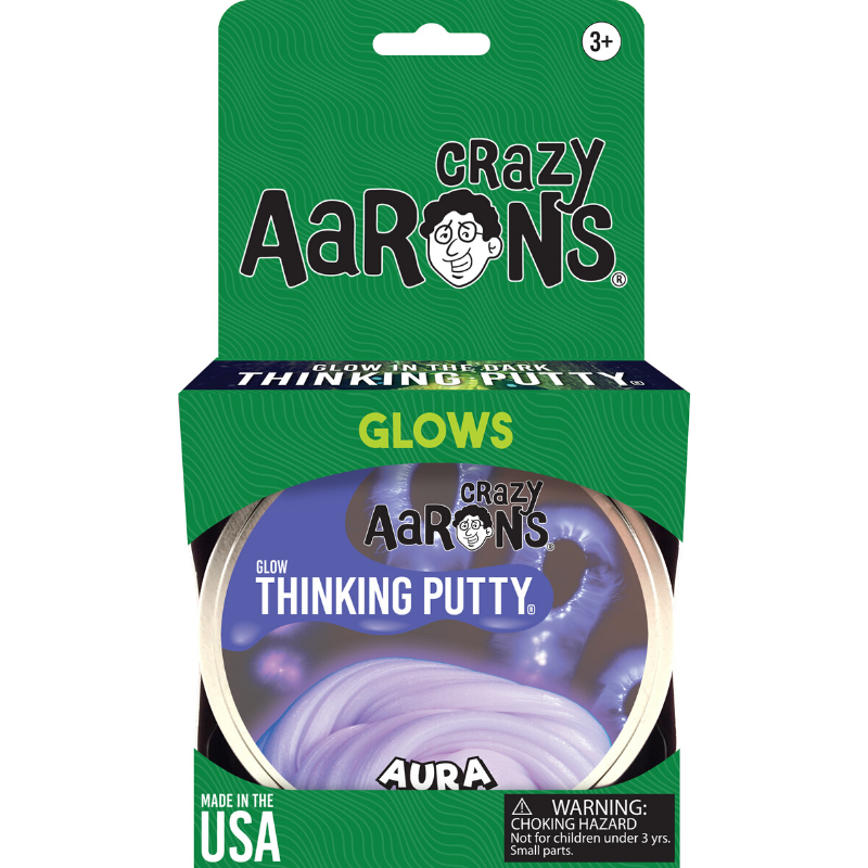 "Thinking Putty - Glow: Aura 4"" Tin"