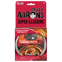 "Thinking Putty - Illusion Super Lava 4"" Tin"