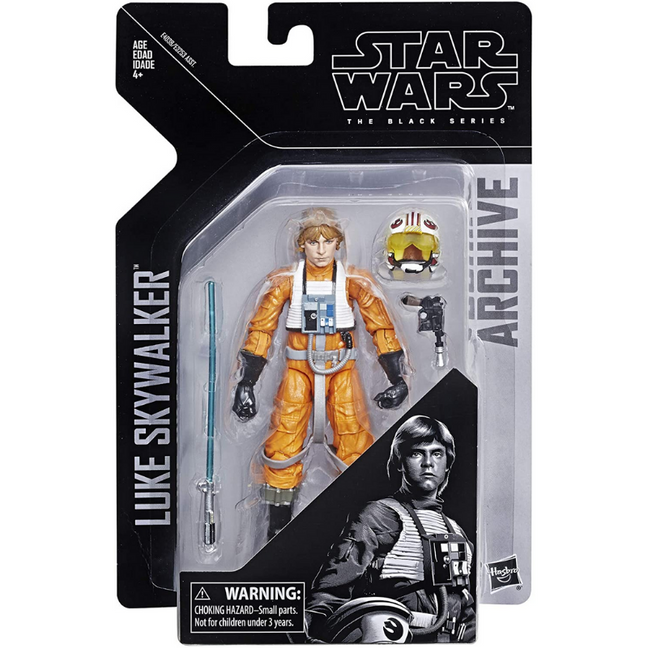 "Figure - Star Wars A New Hope: 6"" The Black Series Luke Skywalker Archive Collection"
