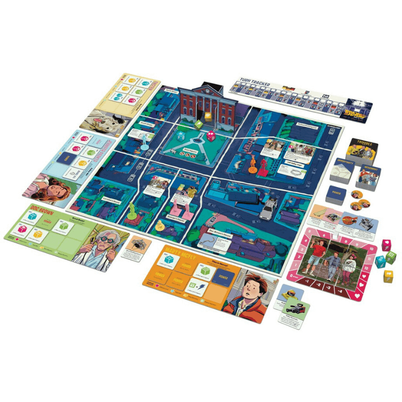 back to the future board game 2020