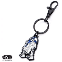 Keychain - Star Wars: R2-D2 Stainless Steel