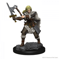 Dungeons & Dragons - Nolzur's Marvelous Unpainted Miniatures: Female Human Barbarian