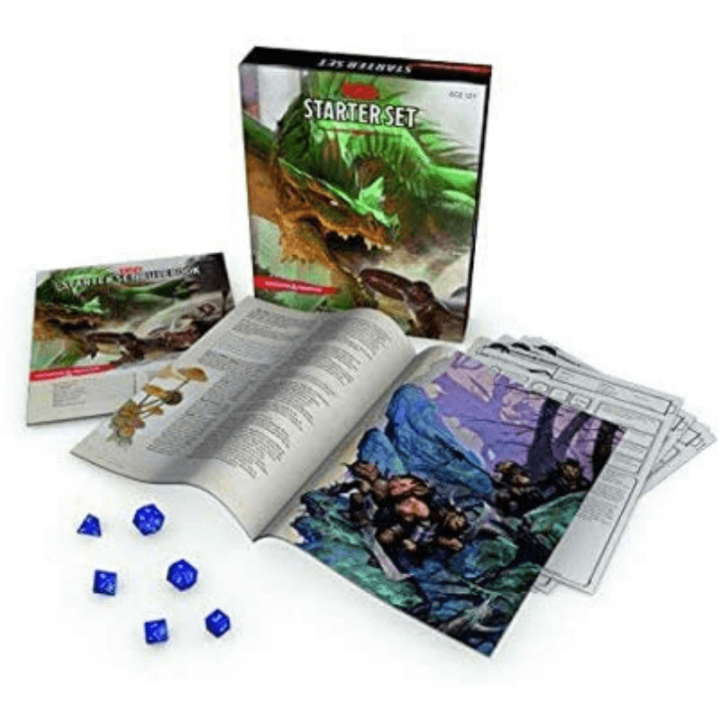 d&d starter set contents