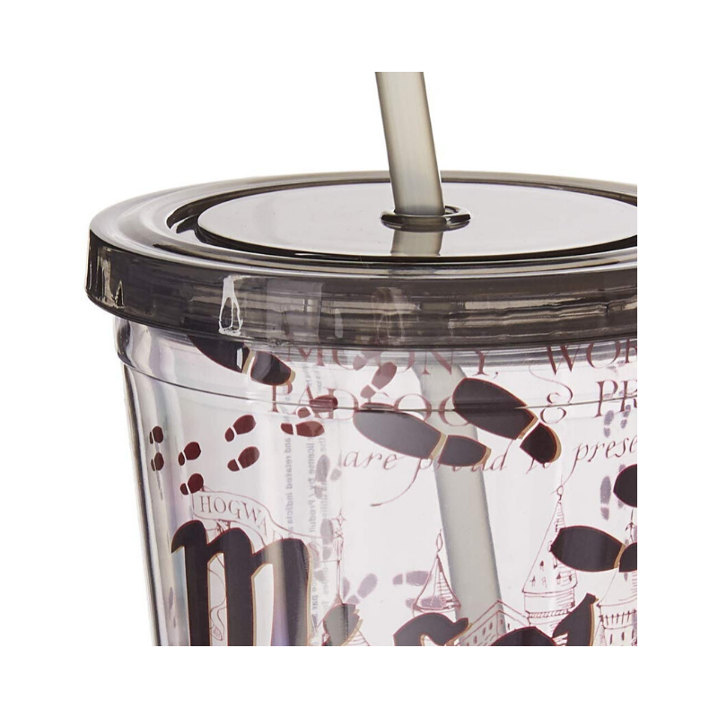 harry potter tumbler with straw