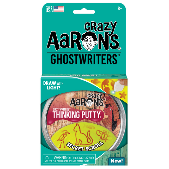 "Thinking Putty - Ghostwriters Secret Scroll 4"" Tin"