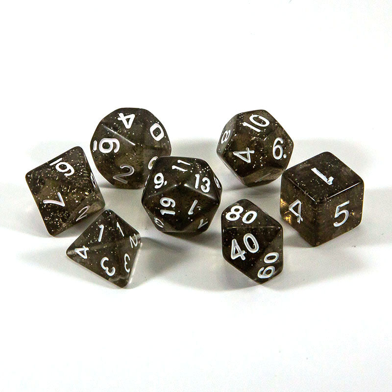 Dice - (51) 7-Piece Polyhedral Set: Starry Night